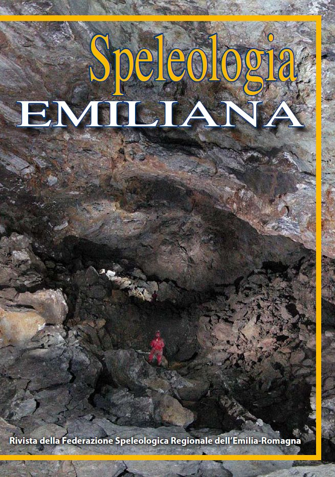 Copertina Speleologia Emiliana 1 - 2010