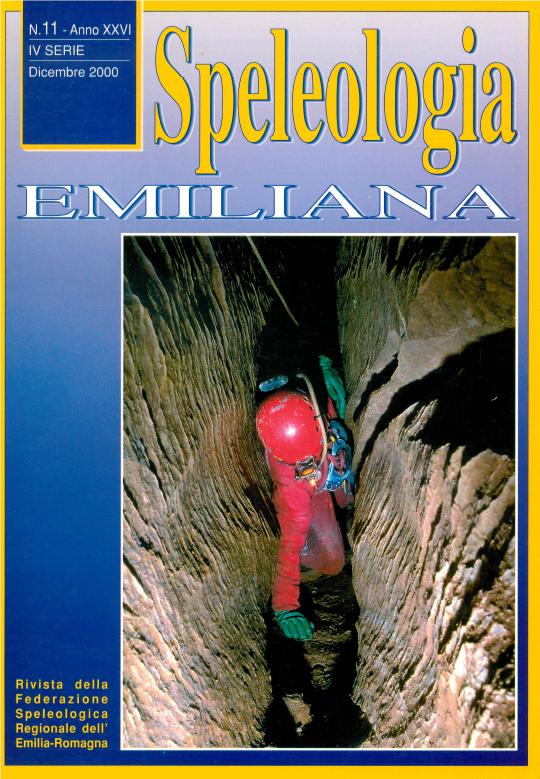 Speleologia Emiliana n° 11 - 2000