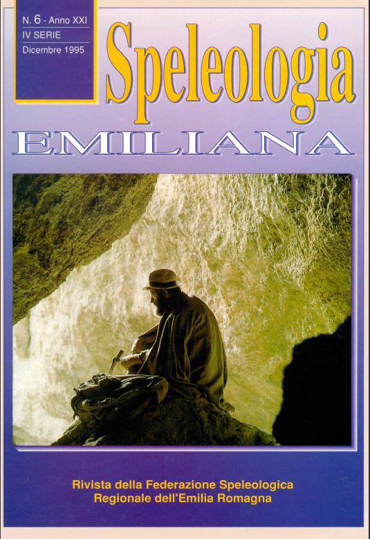 Speleologia Emiliana n° 6 - 1995