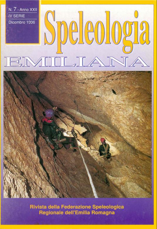 Speleologia Emiliana n° 7 - 1996