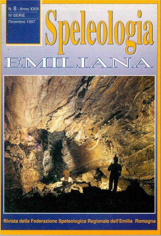 Speleologia Emiliana n° 8 - 1997