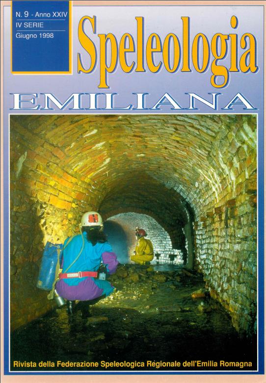 Speleologia Emiliana n° 9 - 1998